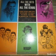 Discos de vinilo: ALL THE HITS WITH ALL THE STARS LP - ORIGINAL U.S.A. - WYNCOTE RECORDS 1965 - MONOAURAL -. Lote 82205560