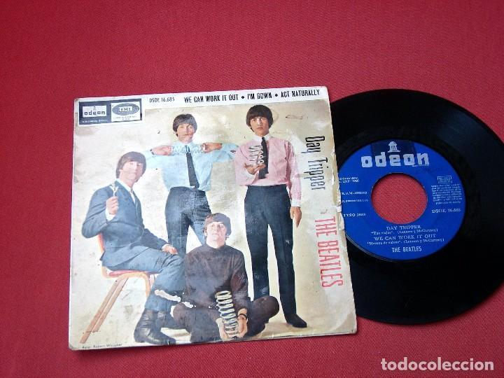 Discos de vinilo: THE BEATLES DAY TRIPPER DISCO SINGLE - Foto 2 - 82217132
