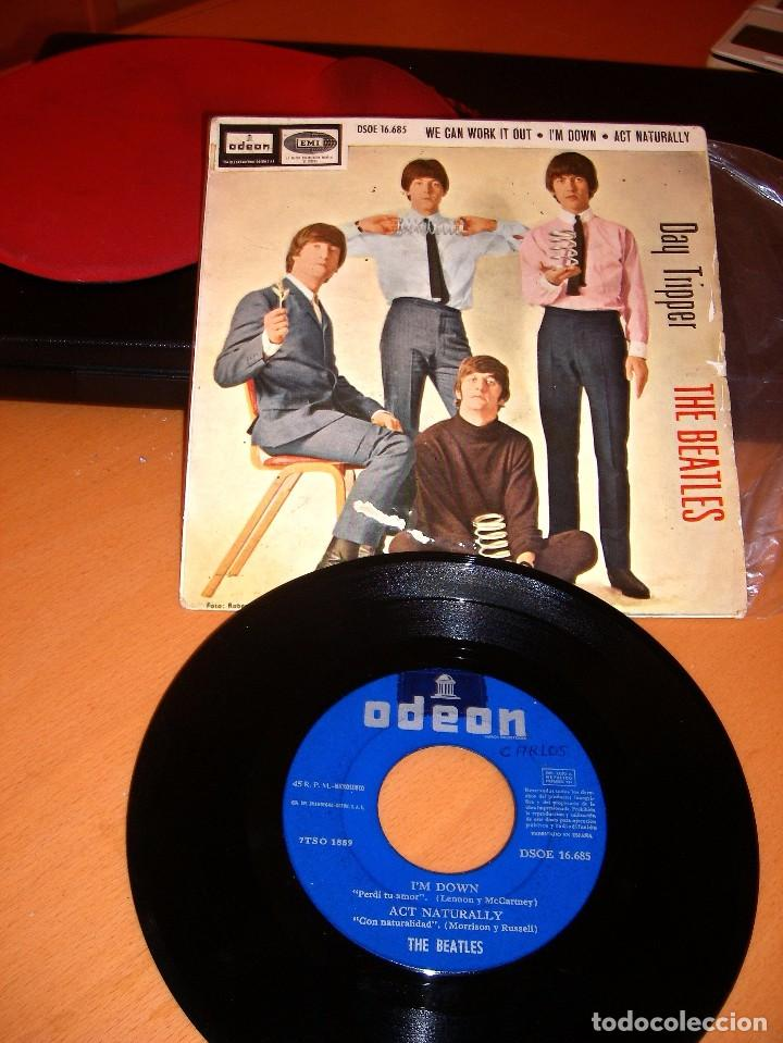 Discos de vinilo: THE BEATLES DAY TRIPPER DISCO SINGLE - Foto 4 - 82217132