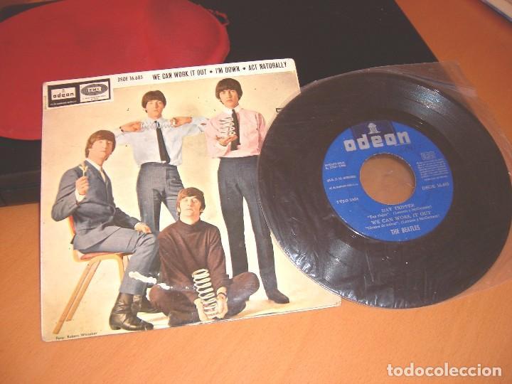Discos de vinilo: THE BEATLES DAY TRIPPER DISCO SINGLE - Foto 5 - 82217132
