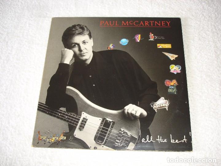 PAUL MCCARTNEY: ALL THE BEST - DOBLE LP ARIOLA 1989 (ENCARTES) (Música - Discos - LP Vinilo - Pop - Rock - New Wave Extranjero de los 80)