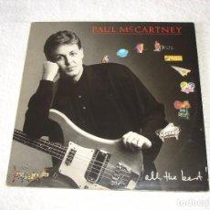 Discos de vinilo: PAUL MCCARTNEY: ALL THE BEST - DOBLE LP ARIOLA 1989 (ENCARTES). Lote 82218492