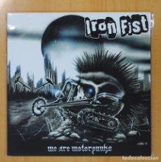 Discos de vinilo: IRON FIST - WE ARE MOTORPUNKS - LP. Lote 82306274