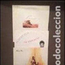 Discos de vinilo: ALBERT PLA LOTE DE 3 DISCOS CANÇÓ CATALANA PROMOCIONALES. Lote 82271148