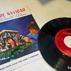 Discos de vinilo: MUSICA SINGLE CAMPANAS DE NAVIDAD ORQUESTA SANTA CLAUS 1959 NUEVO . Lote 82315256