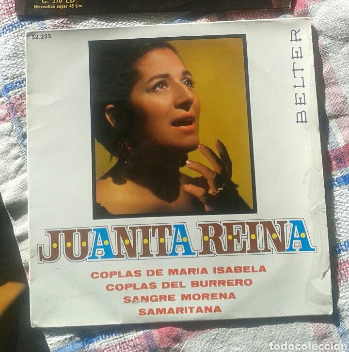 SINGLE JUANITA REINA (Música - Discos - Singles Vinilo - Solistas Españoles de los 50 y 60)