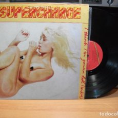 Discos de vinilo: SUPERCHARGE I THINK I´M GONNA FALL(IN LOVE) LP SPAIN 1978 PDELUXE. Lote 82348576