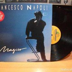Discos de vinilo: FRANCESCO NAPOLI MAGICO LP SPAIN 1988 PDELUXE. Lote 82349460