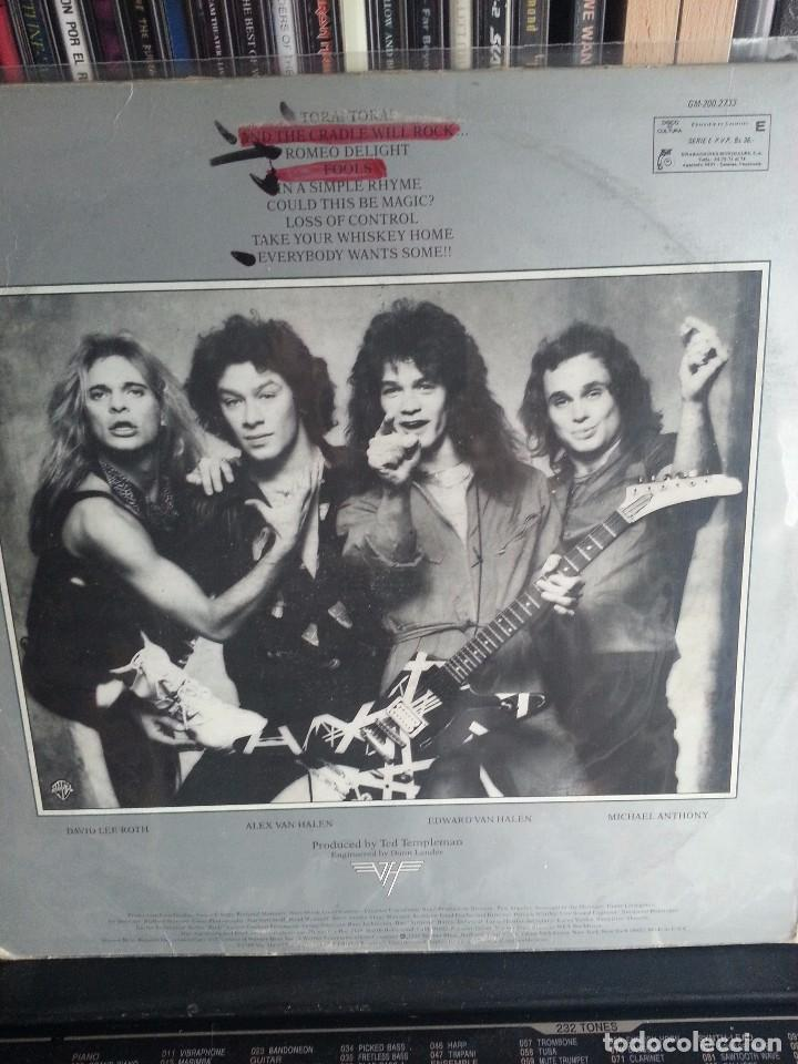 Discos de vinilo: VAN HALEN- WOMEN AND CHILDREN FIRST 1980 - Foto 2 - 82350640