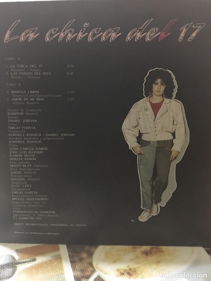 Discos de vinilo: NOELIA ZARRON-LA CHICA DEL 17-1990-PROMO NUEVO-EP - Foto 2 - 82351106