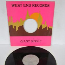 Disques de vinyle: BILLY NICHOLS - GIVE YOUR BODY UP TO THE MUSIC - MAXI - WEST END 1979 USA. Lote 82359728
