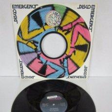 Disques de vinyle: BILLY MOORE - GO DANCE - MAXI 2 VERSIONES - EMERGENCY 1979 USA. Lote 82359856