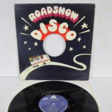 Disques de vinyle: THE WONDERLAND DISCO BAND - WONDER WOMAN DISCO - MAXI 2 VERSIONES - RS 1978 USA. Lote 82360320