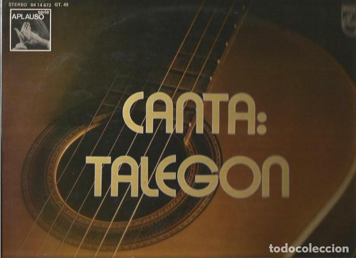 TALEGON LP SELLO PHILIPS AÑO 1973 EDITADO EN ESPAÑA (Música - Discos - LP Vinilo - Flamenco, Canción española y Cuplé)
