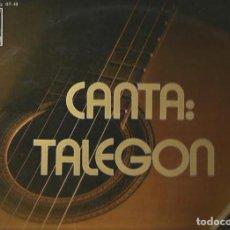 Discos de vinilo: TALEGON LP SELLO PHILIPS AÑO 1973 EDITADO EN ESPAÑA. Lote 82361116