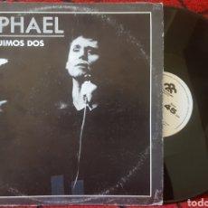 Disques de vinyle: RAPHAEL Y FUIMOS DOS MAXI PROMOCIONAL VENEZUELA MUY RARO. Lote 82434623