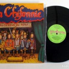 Discos de vinilo: LA CHIFONNIE, AU DESSUS DU POINT, LP EX/EX GUIMBARDA 1980 GATEFOLD. Lote 82442812