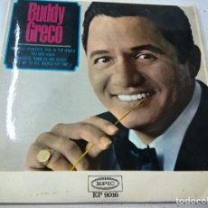 Discos de vinilo: BUDDY GRECO - THE MOST BEAUTIFUL GIRL THE WORLD + 3-, EP-SPANISH 1965-N. Lote 82448596