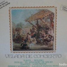 Discos de vinilo: VELADA DE CONCIERTOS - LP BELTER (1975) DUKAS, RAVEL, WAGNER, RIMSKY, KORSAKOV, J.S. BACH. Lote 82465880