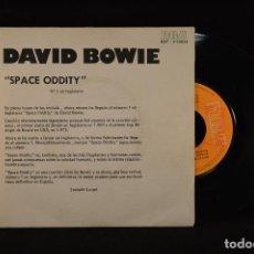 Discos de vinilo: DAVID BOWIE - SPACE ODDITY - SINGLE PROMOCIONAL. Lote 82471736