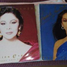 Discos de vinilo: ISABEL PANTOJA -DOBLE LP - CANCION ESPAÑOLA, PRODUCTOR LUIS COBOS - MARINERO DE LUCES. Lote 82474996
