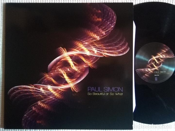 PAUL SIMON - '' SO BEAUTIFUL OR SO WHAT '' LP + INNER + DOWNLOAD (Música - Discos - LP Vinilo - Cantautores Extranjeros)