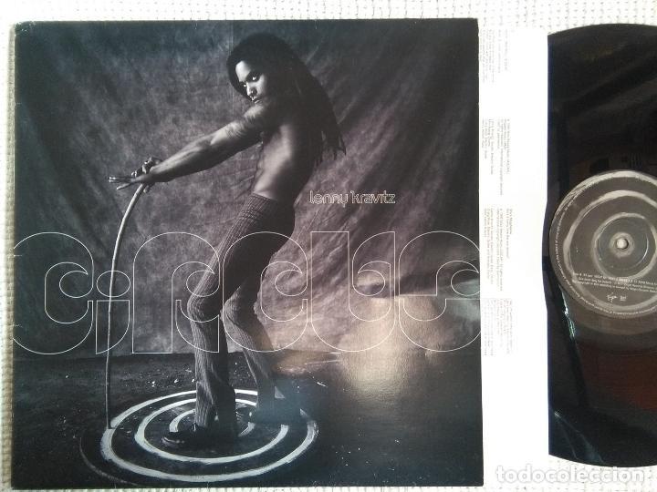 LENNY KRAVITZ - '' CIRCUS '' LP + INNER ORIGINAL UK 1995 (Música - Discos - LP Vinilo - Funk, Soul y Black Music)