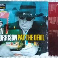 Discos de vinilo: VAN MORRISON - '' PAY THE DEVIL '' LP + INNER USA. Lote 42812443