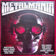 Discos de vinilo: METALMANIA. IRON MAIDEN, DEEP PURPLE, SCORPIONS.......... Lote 82485604