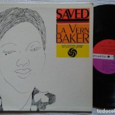 Discos de vinilo: LA VERN BAKER - '' SAVED '' LP ORIGINAL USA. Lote 34697968
