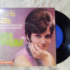 Discos de vinilo: LITA TORELLO - SER Y NO SER + 3 (EP DE 4 CANCIONES) VERGARA 1965 (REF-1AC). Lote 82494916