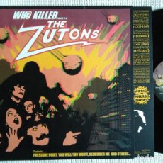 Discos de vinilo: THE ZUTONS - '' WHO KILLED... THE ZUTONS '' LP + INNER 2004. Lote 33819575