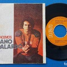 Discos de vinilo: ADRIANO PAPPALARDO -RECOMENCEMOS + HI FI - SINGLE VINILO - RCA VICTOR 1979. Lote 82497128