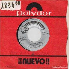Discos de vinilo: BAY CITY ROLLERS / MAÑANA / BECAUSE I LOVE YOU (SINGLE 1972). Lote 82525660