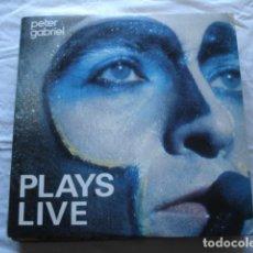 Discos de vinilo: PETER GABRIEL PLAYS LIVE . Lote 82534868