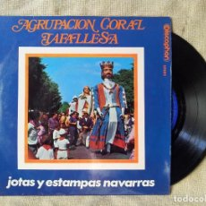Discos de vinilo: AGRUPACION CORAL TAFALLESA - JOTAS Y ESTAMPAS NAVARRAS - TAFALLA - AÑO 1.969 (REF-1AC) . Lote 82536176