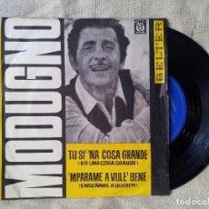 Discos de vinilo: EP DOMENICO MODUGNO - ES UNA COSA GRANDE-ENSAÑAME A QUERER BELTER 07-140 ..1964 (REF-1AC) . Lote 82537956