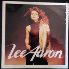 Discos de vinilo: LEE AARON (4º ALBUM) LP VINILO VIRGIN ESPAÑA 1987 (HEAVY METAL). Lote 82544844