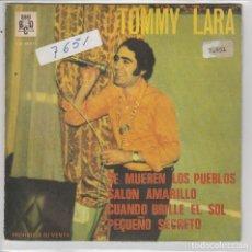 TOMMY LARA / SE MUEREN LOS PUEBLOS + 3 (EP PROMO 1968)