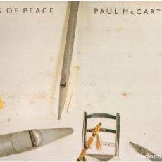 Discos de vinilo: PAUL MCCARTNEY PIPES OF PEACE. Lote 82556120