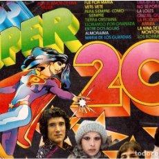 Discos de vinilo: LOS SUPER 20 . Lote 82560964