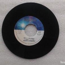 Discos de vinilo: BERES HAMMOND - TRY IF YOU WANT SINGLE 2006 EDICION JAMAICA. Lote 203979053