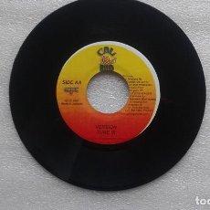 Discos de vinilo: BUSH MAN - ARMS OF A WOMAN SINGLE 2001 EDICION JAMAICA. Lote 82621512