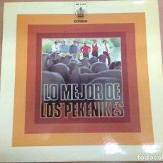Discos de vinilo: LP LOS PEKENIKES / LO MEJOR DE EDIATO POR HISPAVOX 1973. Lote 82631044