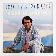 Vinyl-Schallplatten - Disco de vinilo LP de José Luis Perales. Sueño de Libertad 1987 - 82654208