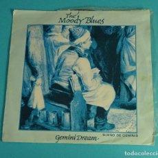 Discos de vinilo: THE MOODY BLUES. GEMINI DREAM. PAINTED IMILE. DECCA RECORD 1981. Lote 82655672