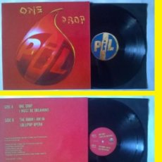 Discos de vinilo: SEX PISTOLS, PUBLIC IMAGE LTD (PIL) - ONE DROP - JOHN LYDON / RARA ORIG. EDIT UK, IMPECABLE. Lote 82706220