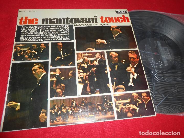 MANTOVANI Y SU ORQUESTA THE MANTOVANI TOUCH LP 1968 DECCA EDICION ESPAÑOLA SPAIN (Música - Discos - LP Vinilo - Orquestas)