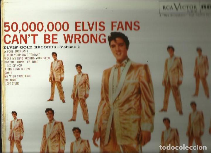 ELVIS PRESLEY. LP. SELLO RCA-VICTOR. EDITADO EN ESPAÑA. AÑO 1977 (Música - Discos - LP Vinilo - Pop - Rock - Extranjero de los 70)