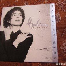 Discos de vinilo: HELEN SCHNEIDER- MAXI-SINGLE DE VINILO- TITULO WORKING GIRL- CON 3 TEMAS- ORIGINAL 88- NUEVO. Lote 82729600